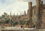St. John's College, Cambridge, by Joseph Murray Ince