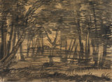 A wood, by Alexander Cozens