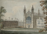 King's College Chapel, by W. Mason