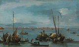 View towards Murano, Venice, by Guardi
