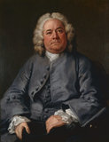 George Arnold, by Hogarth