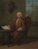 Dr Benjamin Hoadly, by Hogarth