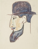 Man with a bowler hat