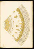 Cross-section of a basin, designs for silverware