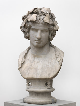 Roman head of Antinous