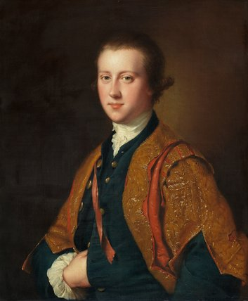Viscount Fitzwilliam of Merrion, by Joseph Wright of Derby