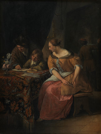 Interior with a Painter and his Family