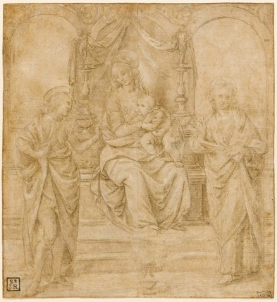 Study for the Virgin and Child