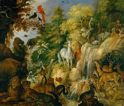Orpheus with beasts and birds, by Roelant Savery