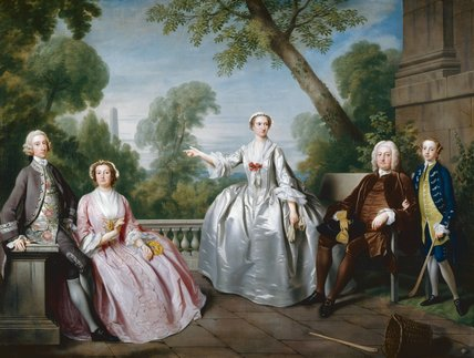 The Andrews family, by James Wills