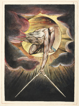 The Ancient of Days, by William Blake