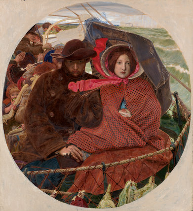 The Last of England, by Ford Madox Brown