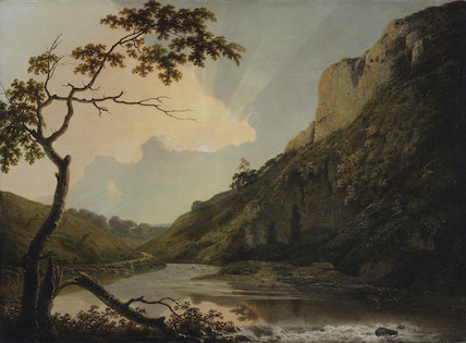 Matlock Tor, by Joseph Wright of Derby