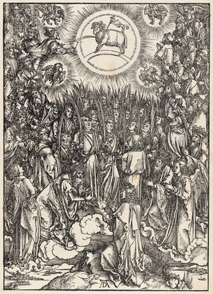 The Adoration of the Lamb, by Durer