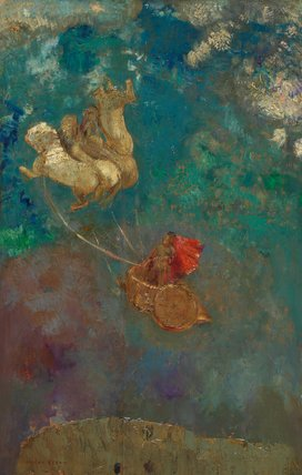 Le char d' Apollon, by Odilon Redon