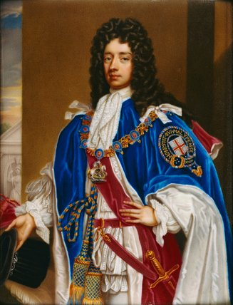 John Douglas, Duke of Queensbury, by Carl Boit
