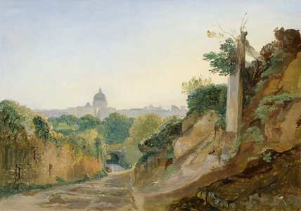 A view of Rome, by Andre Giroux