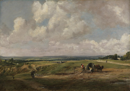 Hampstead Heath, by Constable by Constable, John at