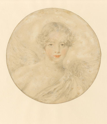 Portrait of Cassandra Isabella Barwick, by Thomas Lawrence