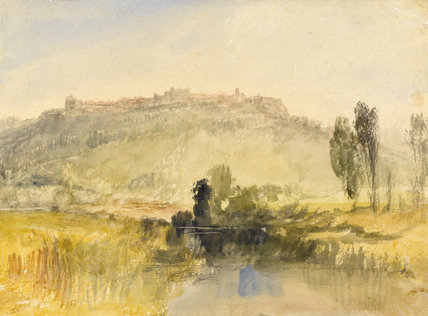 Carisbrooke Castle, Isle of Wight, by Turner