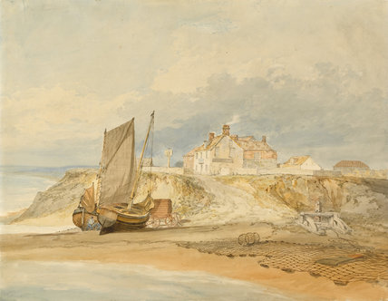 View on the Sussex coast, by Turner