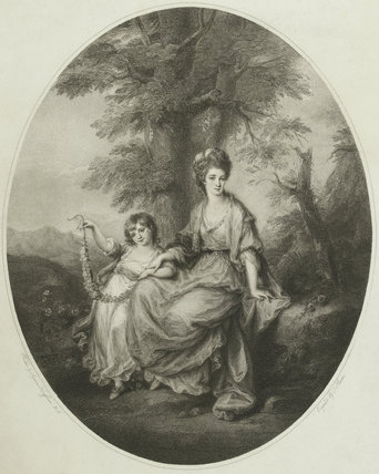 Lady Northwick with Daughter, after Angelica Kauffmann