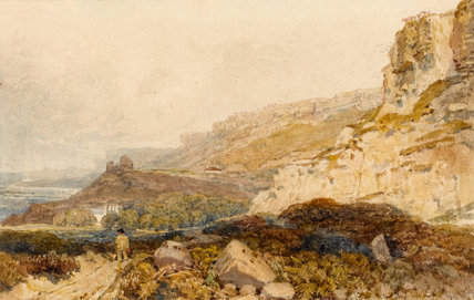 Undercliff, Isle of Wight, by Peter De Wint