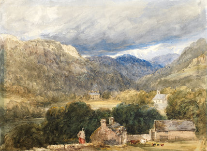 Bettws-y-Coed, by David Cox the elder