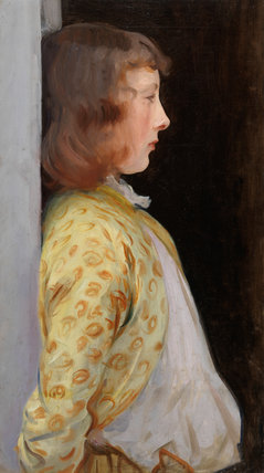 Portrait of Dorothy Barnard, by Sargent