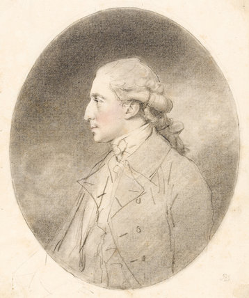 Andrew Robinson Stoney-Bowes, by John Downman