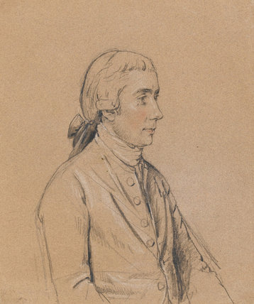 Dr Hugh Downman, by John Downman
