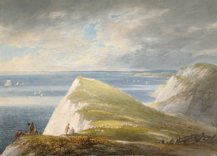 Shakespeare's Cliff, Dover, by William Payne
