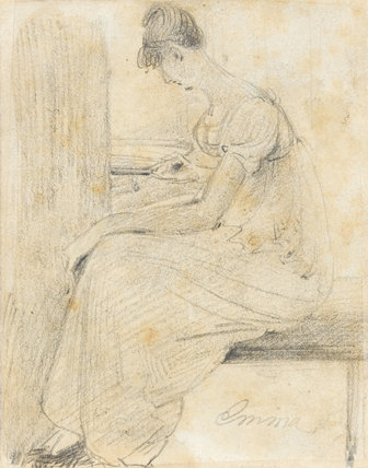 Emma Hobson of Markfield, by Constable