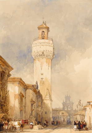 The Church of St Nicholas, Cordoba, by David Roberts