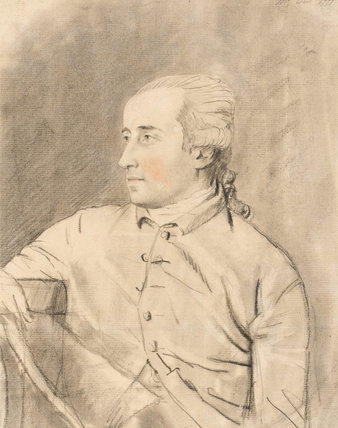 Benjamin West, by John Downman