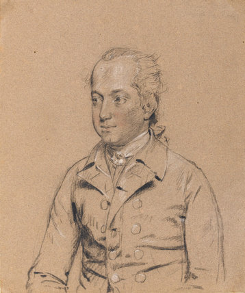 Francis John Browne, by John Downman