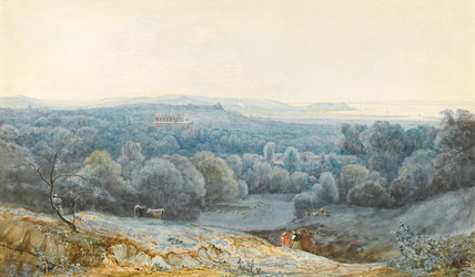 View from Kingsweston Hill, near Bristol, by Francis Danby