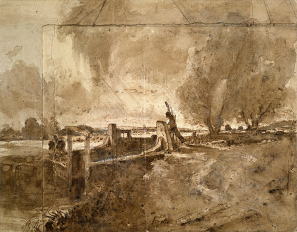 The Lock, by John Constable