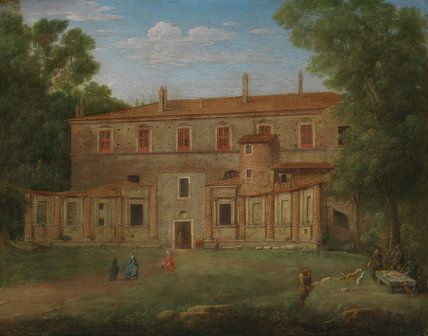The Villa Madama, Rome, by Hendrik Frans van Lint