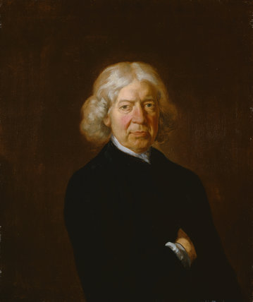 John Kirby, by Gainsborough