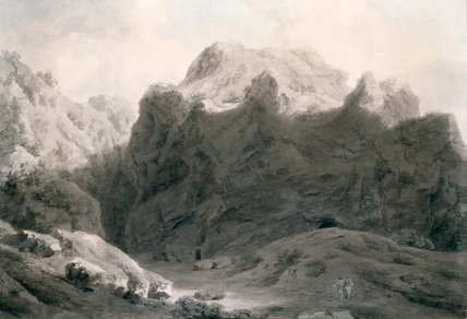 The Chasm at Delphi, by Cozens
