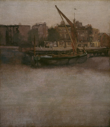 Symphony in Grey and Brown, after Whistler