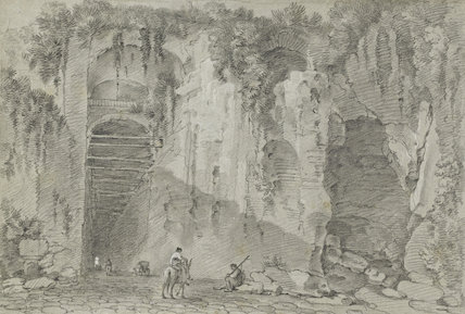 The Grotto of Posilippo, by Richard Wilson