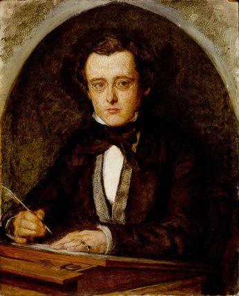 Wilkie Collins, by Charles Allston Collins