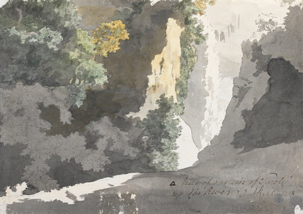 Sketch of a landscape, by Jonathan Skelton