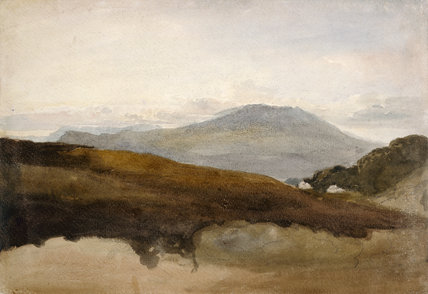 Mountains in Wales, by David Cox the elder