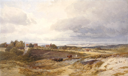 Fawke Common, near Sevenoaks, by Edward Duncan