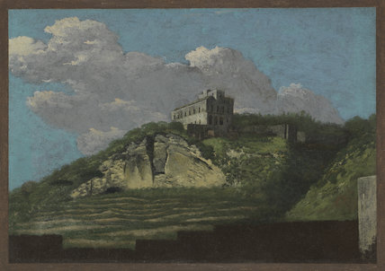 Scene near Naples, by Thomas Jones