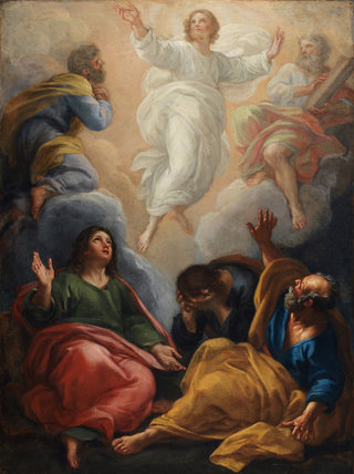 The Transfiguration, by Giacinto Calandrucci