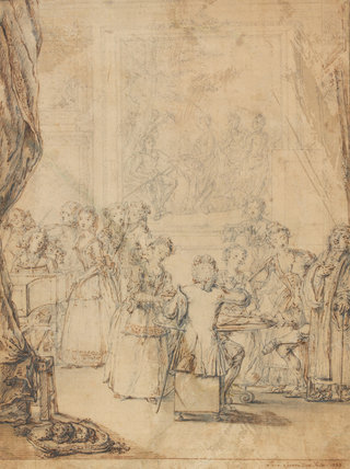 A Musical Party at Montagu House, by Marcellus Laroon